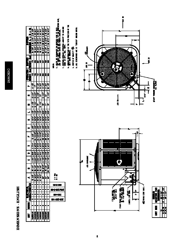 Carrier 24acs3c 3pd Heat Air Conditioner Manual
