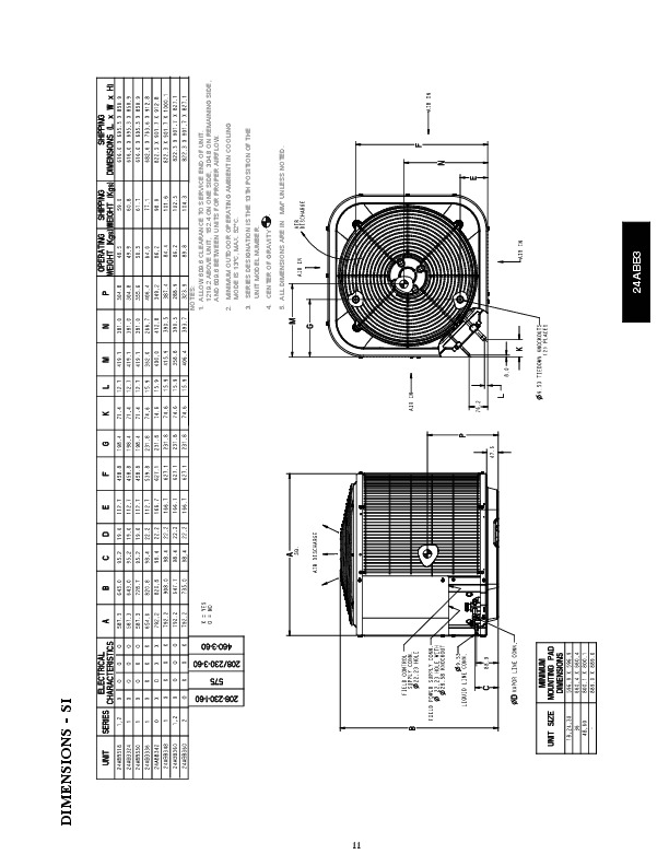 Carrier 24abb 3 6pd Heat Air Conditioner Owners Manual