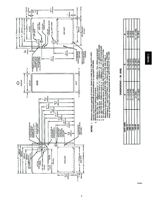Carrier 58MEC 02PD Gas Furnace Owners Manual