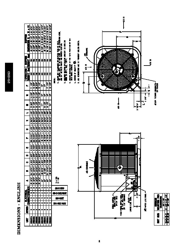 Carrier 25hbs3 3pd Heat Air Conditioner Manual