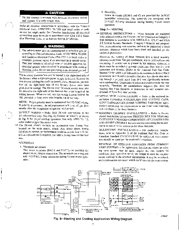 Carrier 58SSC 10SI Gas Furnace Owners Manual