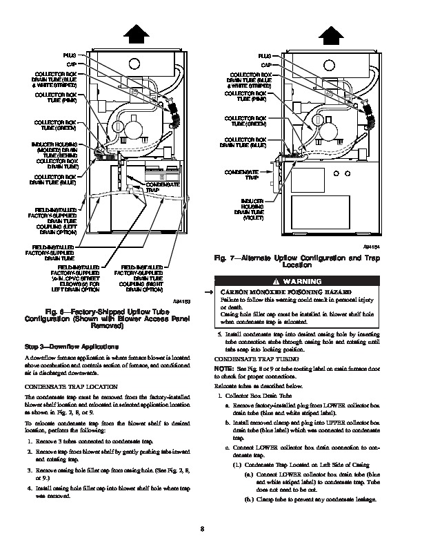 Carrier 58MXA 17SI Gas Furnace Owners Manual