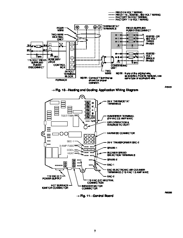 Carrier 58P 58R 10SM Gas Furnace Owners Manual