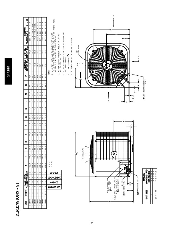 Carrier 24abb4 4pd Heat Air Conditioner Manual