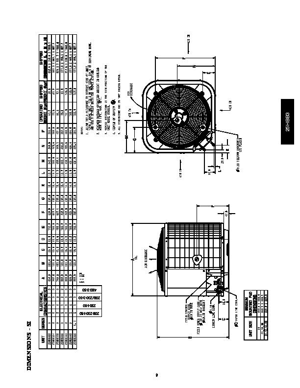 Carrier 25hbb3 4pd Heat Air Conditioner Manual