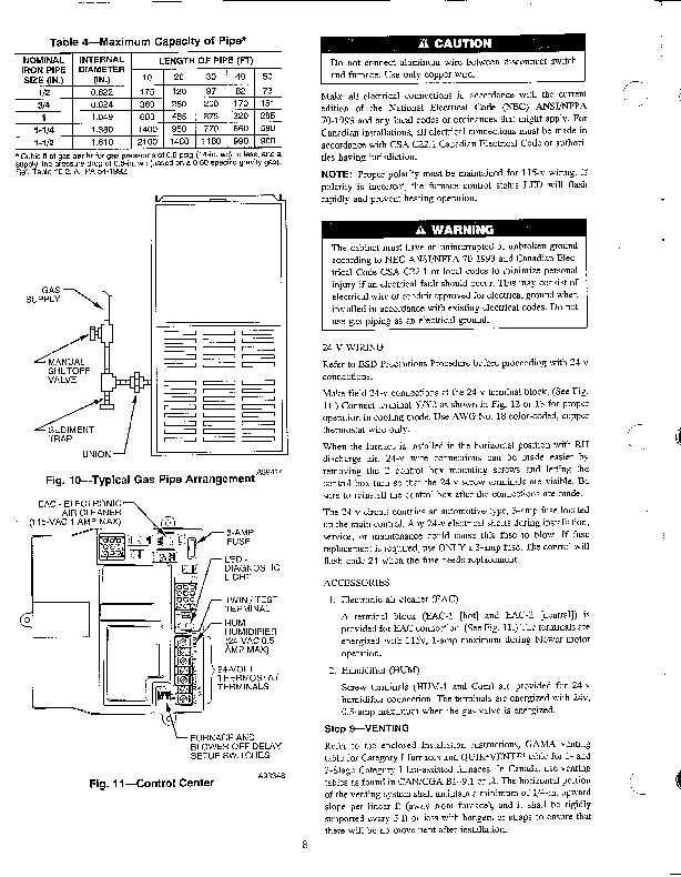 Carrier 58TMA 4SI Gas Furnace Owners Manual