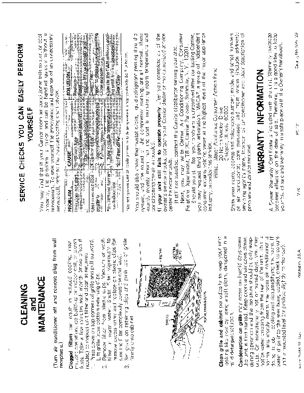 Carrier 51 28 Heat Air Conditioner Manual