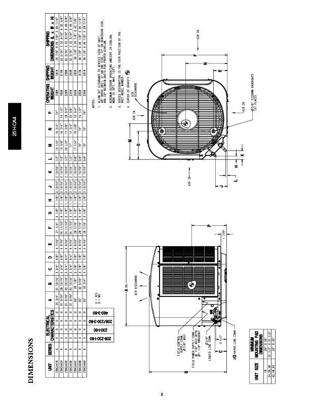 Carrier 25hca4 1pd Heat Air Conditioner Manual