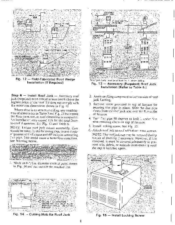 Carrier 58MH 1SI Gas Furnace Owners Manual