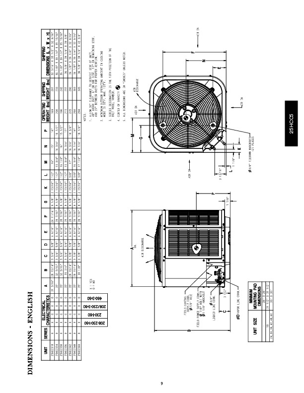 Carrier 25hcc5 1pd Heat Air Conditioner Manual