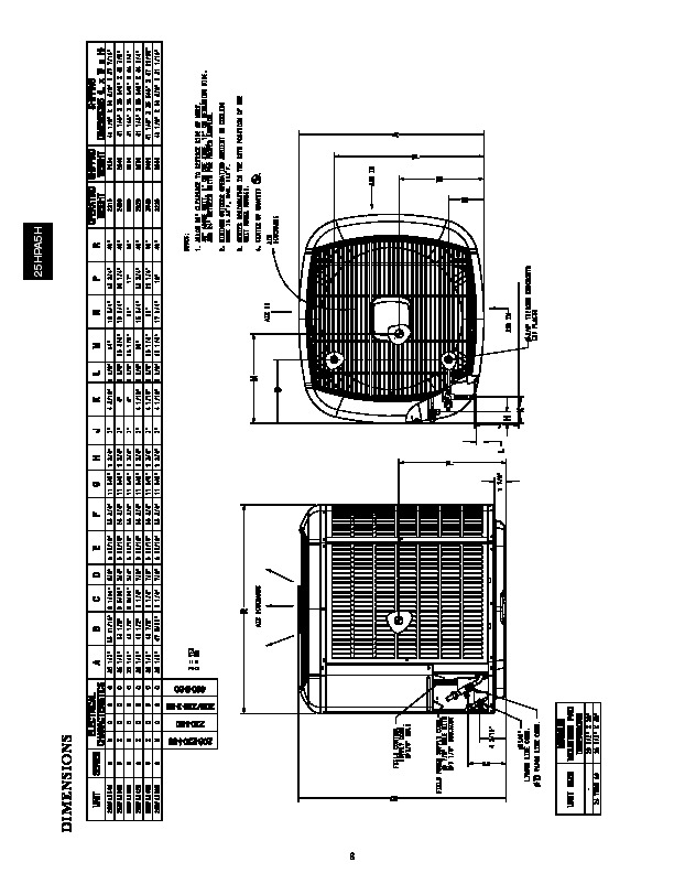 Carrier 25hpa5h 1pd Heat Air Conditioner Manual