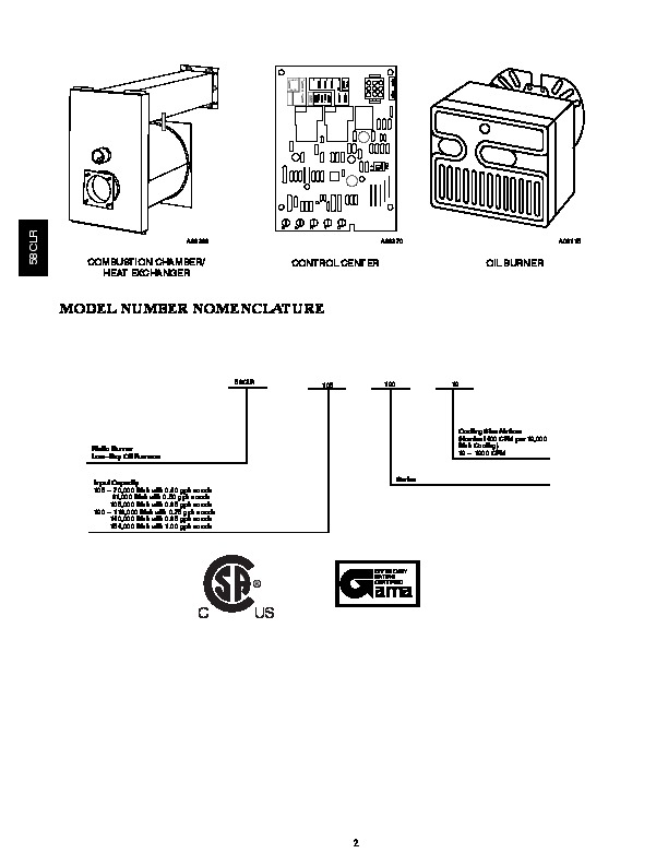 Carrier 58CLR 4PD Gas Furnace Owners Manual
