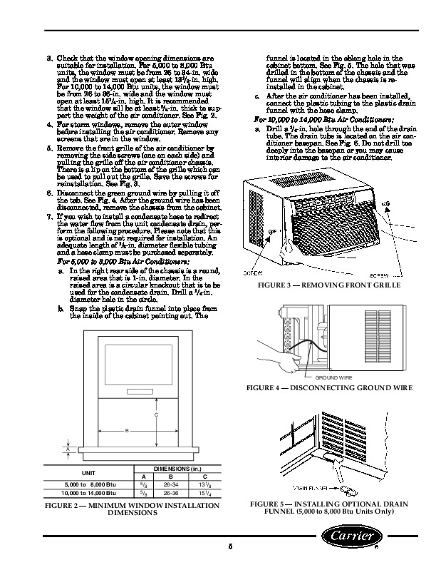 Carrier 73gc 1si Heat Air Conditioner Manual