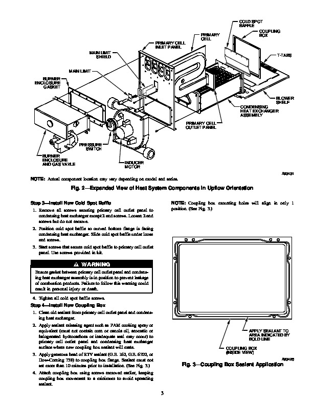 Carrier 58M 70SI Gas Furnace Owners Manual