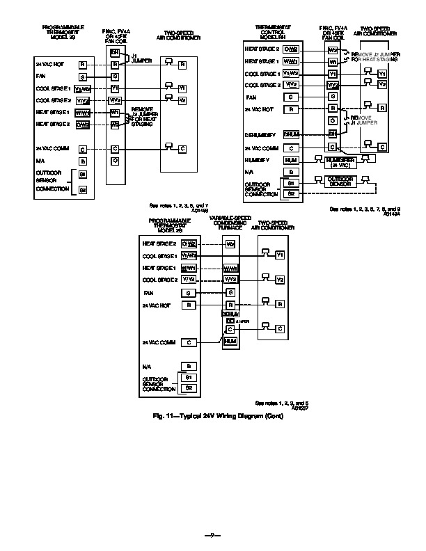 Carrier Bryant 598b 24 4 Heat Air Conditioner Manual