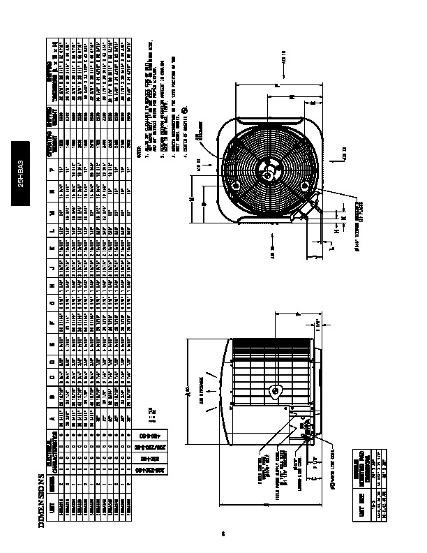 Carrier 25hba3 3pd Heat Air Conditioner Manual