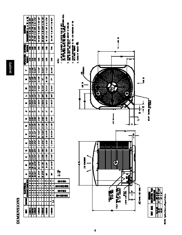 Carrier 24abr3 3pd Heat Air Conditioner Manual