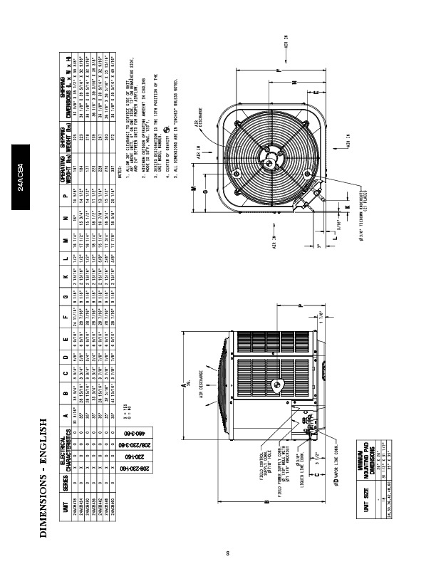 Carrier 24acb4 2pd Heat Air Conditioner Manual