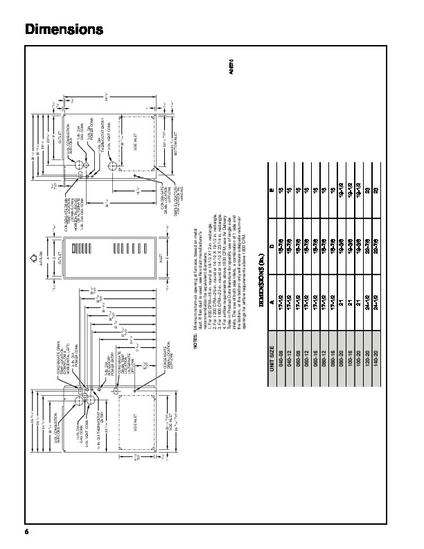 Carrier 58MCA 10PD Gas Furnace Owners Manual