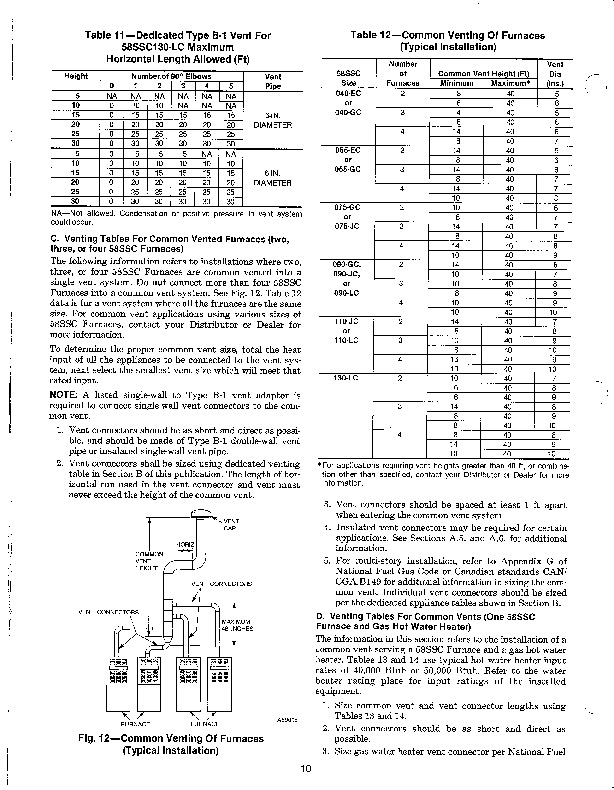 Carrier 58SSC 8SI Gas Furnace Owners Manual