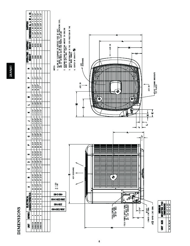 Carrier 24ana1 2pd Heat Air Conditioner Manual
