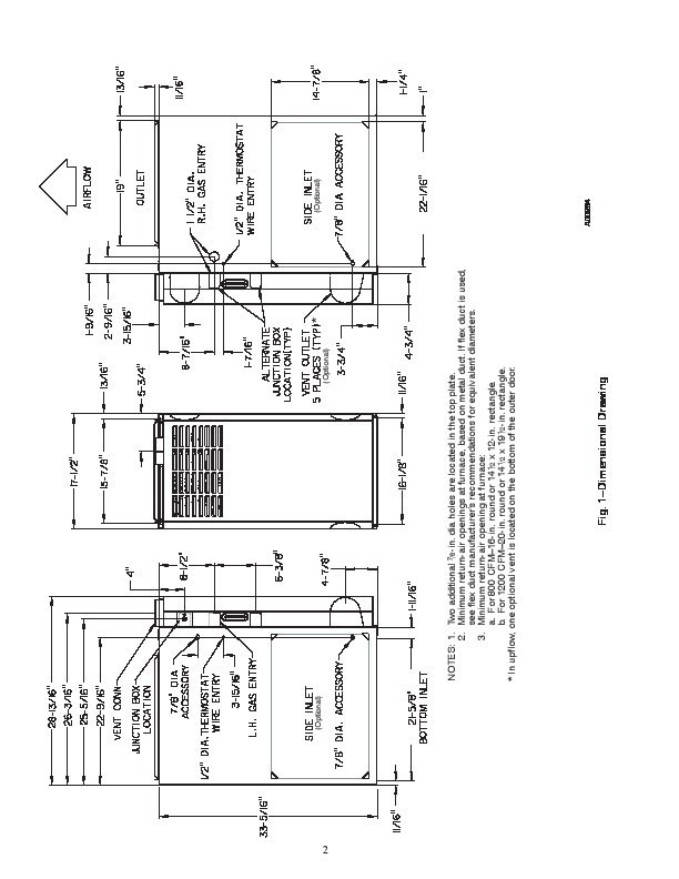 Carrier 58DLF 1SI Gas Furnace Owners Manual