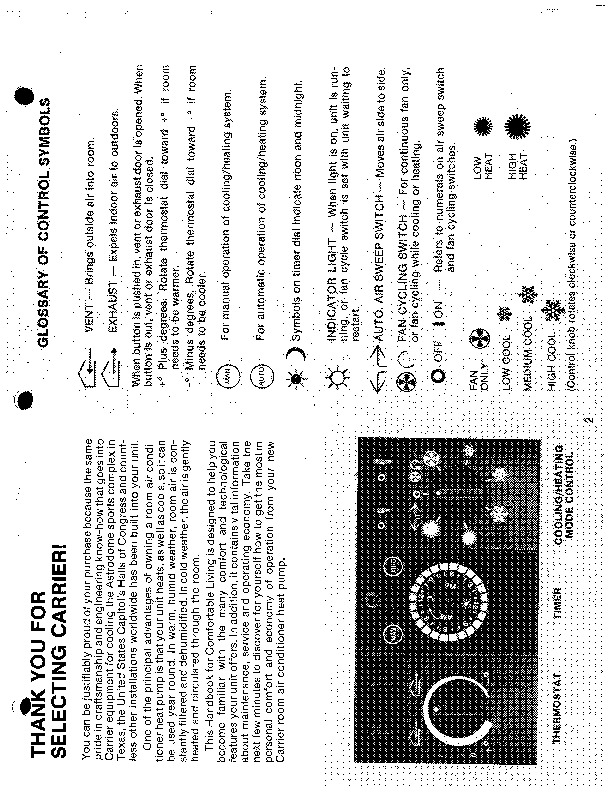 Carrier 51 118 Heat Air Conditioner Manual