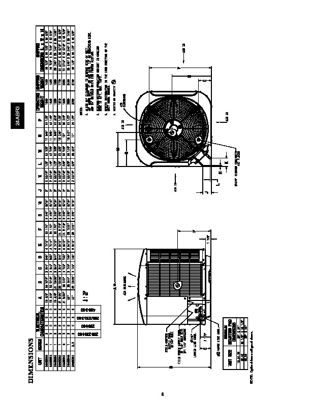 Carrier 24abr3 2pd Heat Air Conditioner Manual