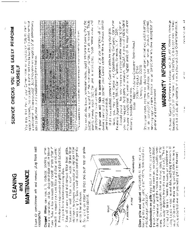 Carrier 51 42 Heat Air Conditioner Manual