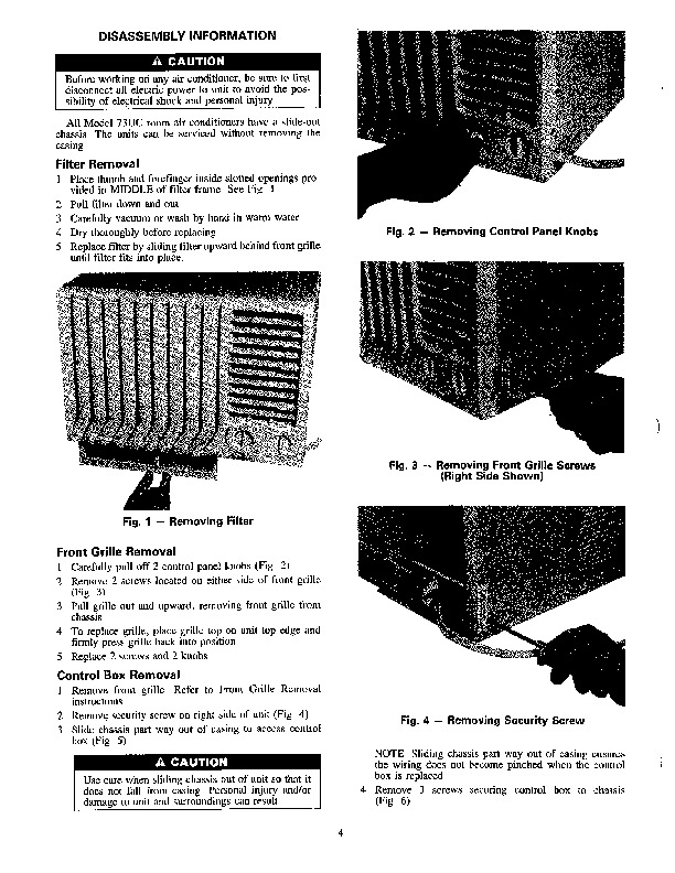 Carrier 73uc 1ss Heat Air Conditioner Manual