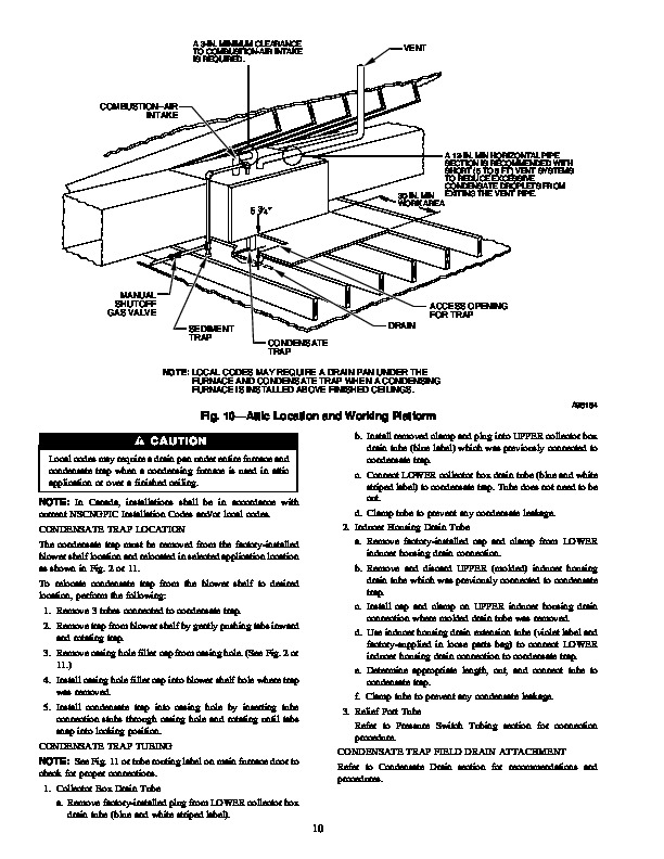 Carrier 58MSA 1SI Gas Furnace Owners Manual