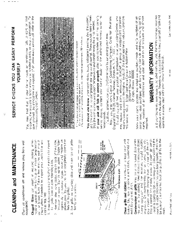 Carrier 51 49 Heat Air Conditioner Manual