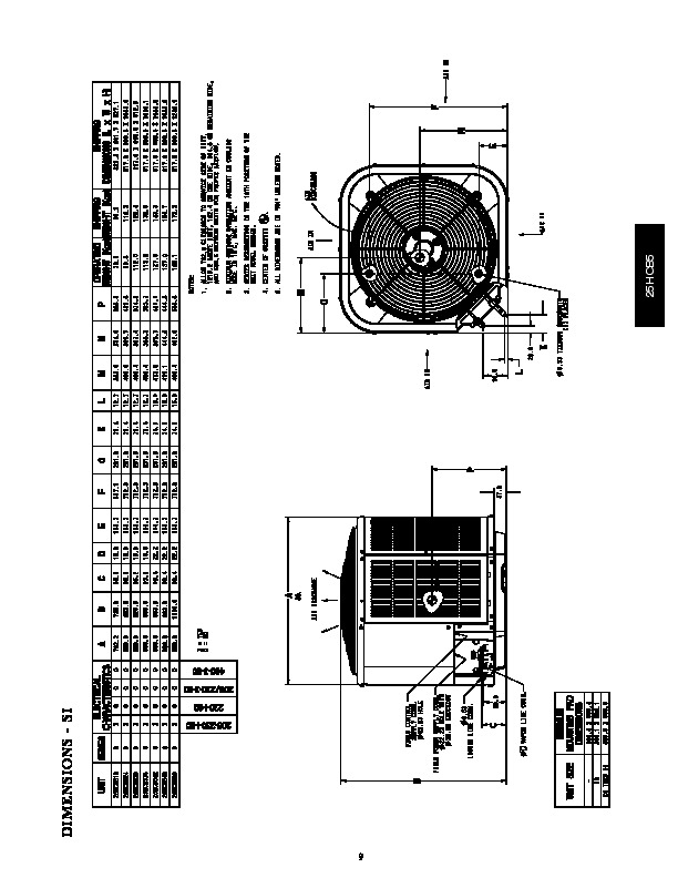 Carrier 25hcb5 3pd Heat Air Conditioner Manual