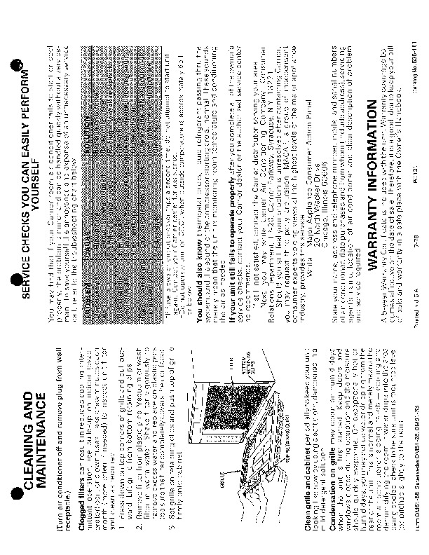 Carrier 51 58 Heat Air Conditioner Manual