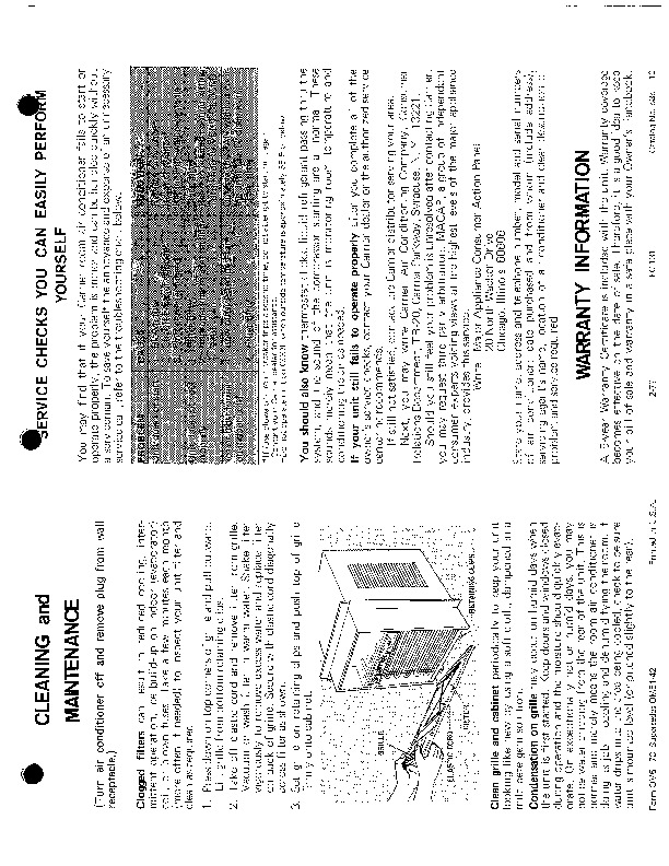 Carrier 51 73 Heat Air Conditioner Manual