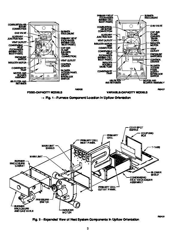 Carrier 58M 34SI Gas Furnace Owners Manual