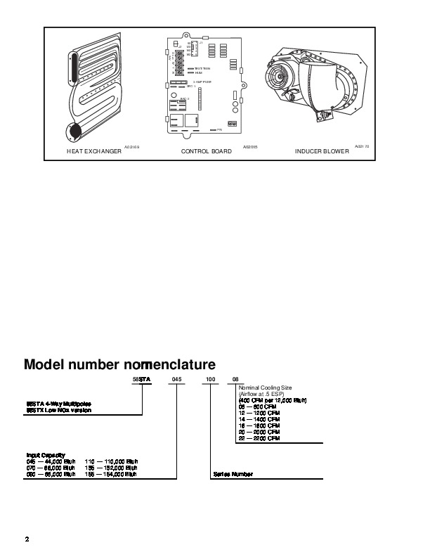 Carrier 58ST 4PD Gas Furnace Owners Manual