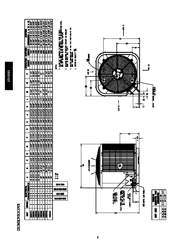 Carrier 25hbs3 1pd Heat Air Conditioner Manual