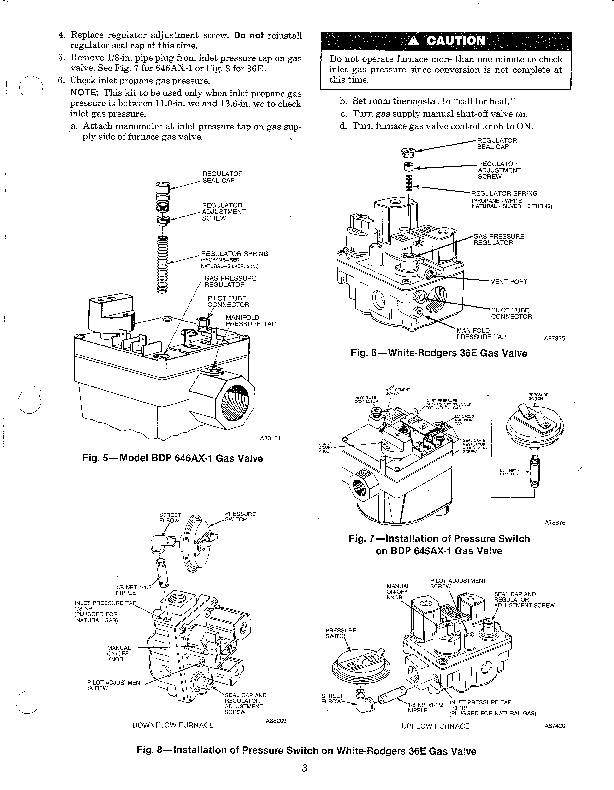 Carrier 58SX 19SI Gas Furnace Owners Manual