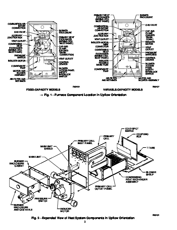 Carrier 58M 28SI Gas Furnace Owners Manual