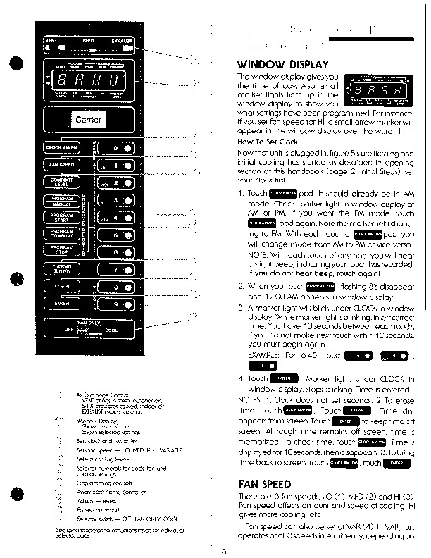 Carrier 51 7 Heat Air Conditioner Manual
