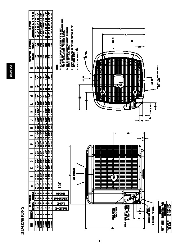 Carrier 24apa3 1pd Heat Air Conditioner Manual
