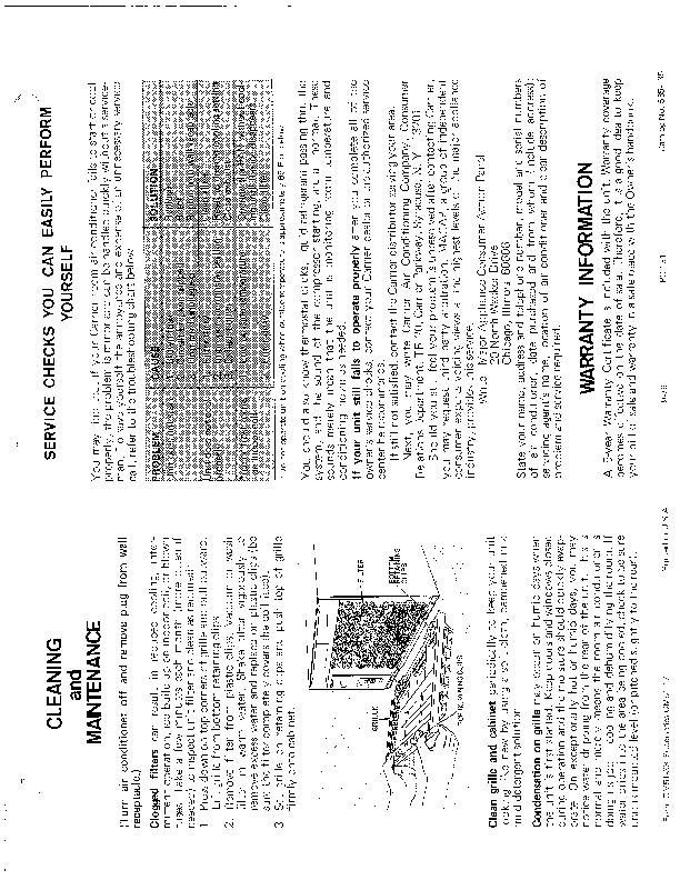 Carrier 51 33 Heat Air Conditioner Manual