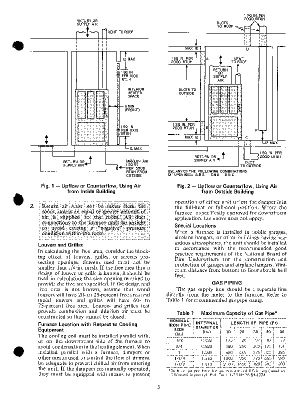 Carrier 58 Series 5XA Gas Furnace Owners Manual