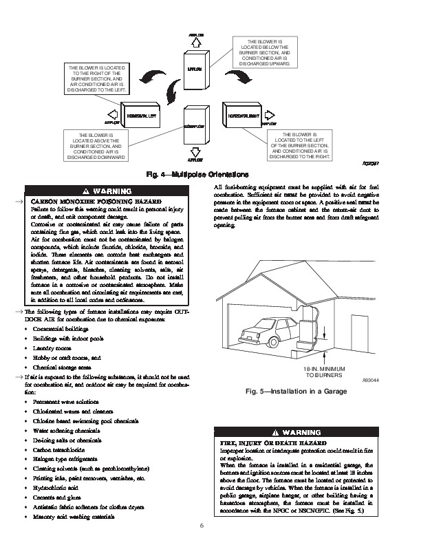Carrier 58ST 13SI Gas Furnace Owners Manual