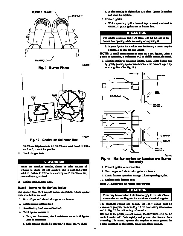 Carrier 58MVP 2SM Gas Furnace Owners Manual