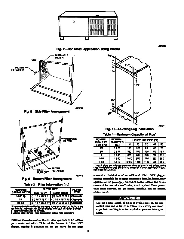 Carrier 58UXT 2SI Gas Furnace Owners Manual