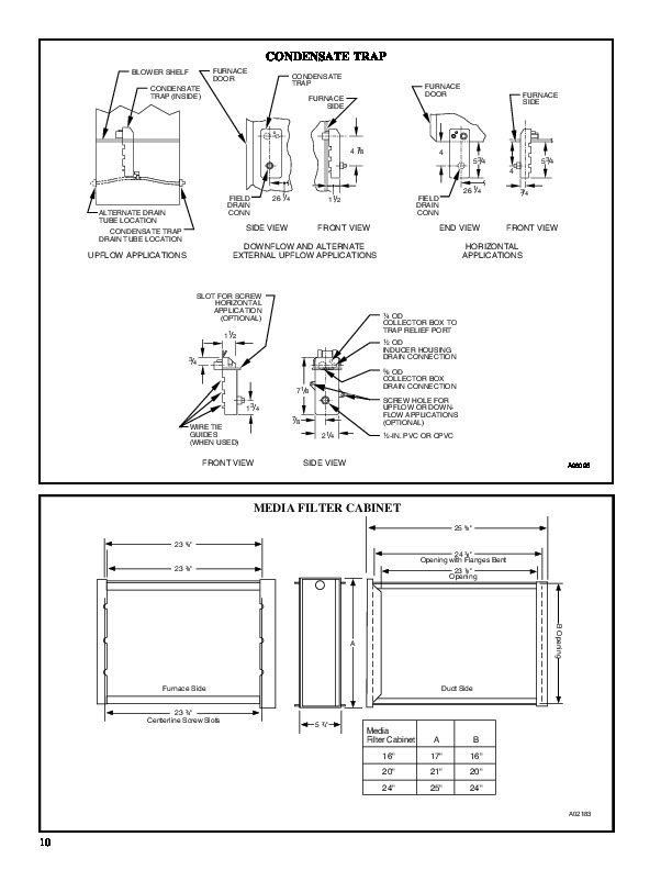 Carrier 58MXA 10PD Gas Furnace Owners Manual