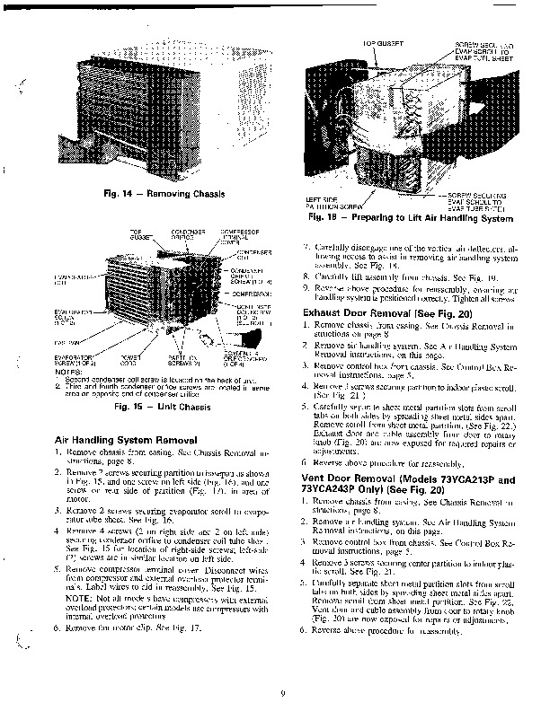 Carrier 73x Y 1ss Heat Air Conditioner Manual