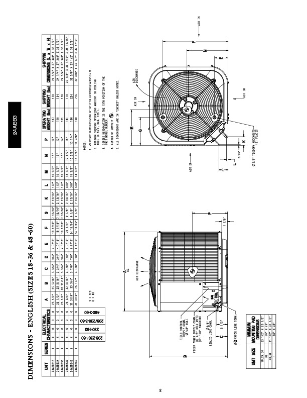Carrier 24abb 3 3pd Heat Air Conditioner Manual